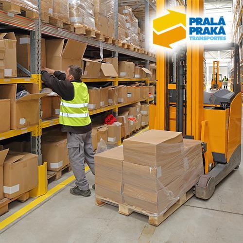 Serviços de transporte e armazenamento