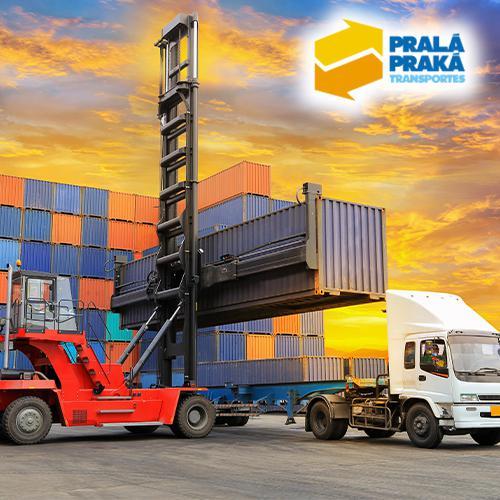 Transportadora para pequenas empresas